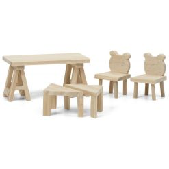 Lundby pöytä ja tuolit Diy