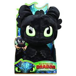 Dragons pehmo Toothless äänellä