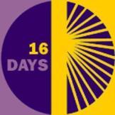 16 days of activism against gender based violence logo