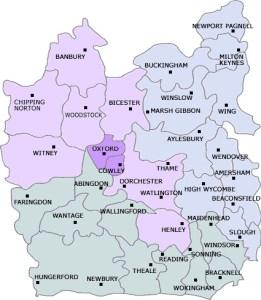 Diocesan Map