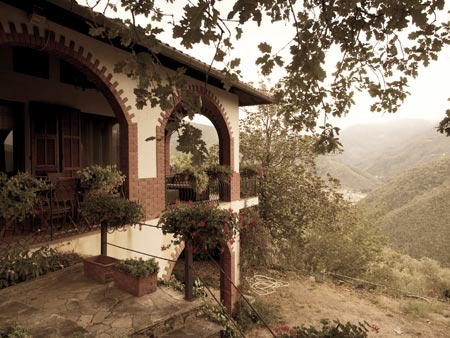 Villa in the mountains
