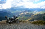 Bike selfie - miscellaneous picture of my 2007 BMW R1200GS in some scenic location.