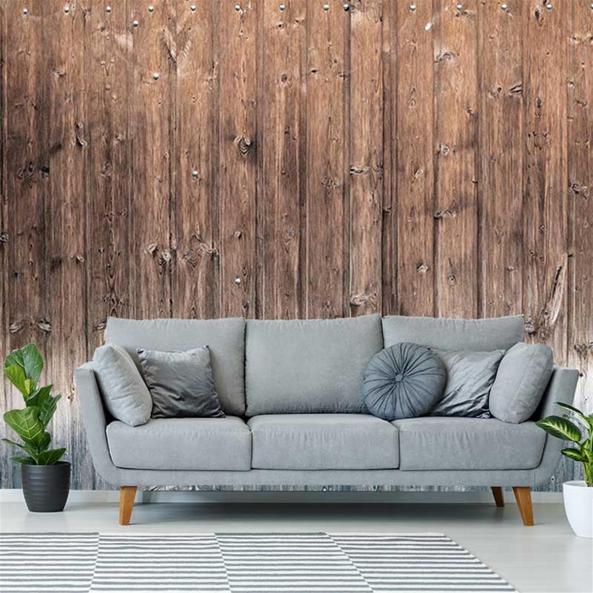 papier peint aspect bois moderne wooden wall