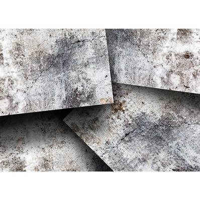 papier peint 3d style industriel neptune