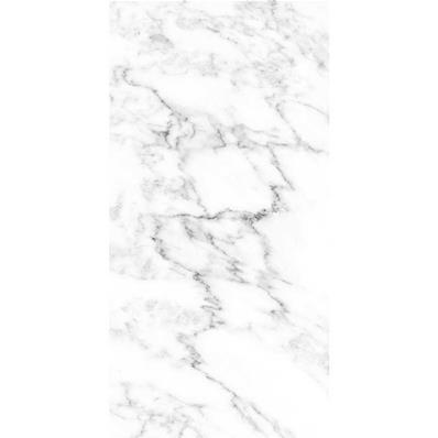 radiateur electrique design effet marbre blanc