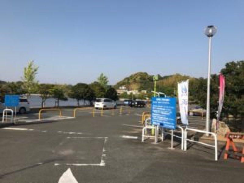 浜名湖遊覧船、フラワーパーク港、駐車場