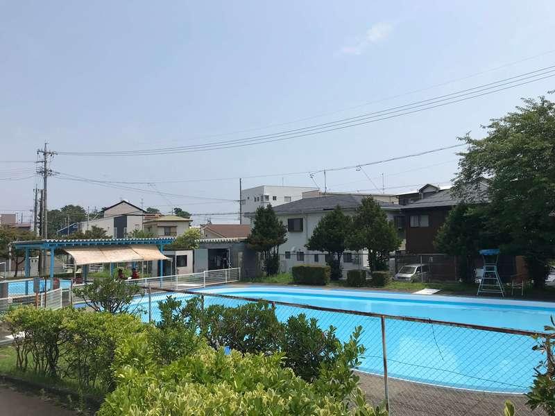 相生公園の児童プール