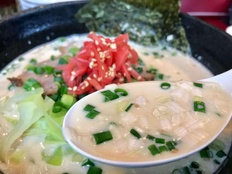 大王有楽街店のスープ