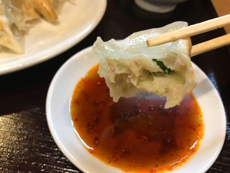錦華楼 千歳町本店(きんかろう)の餃子の餡