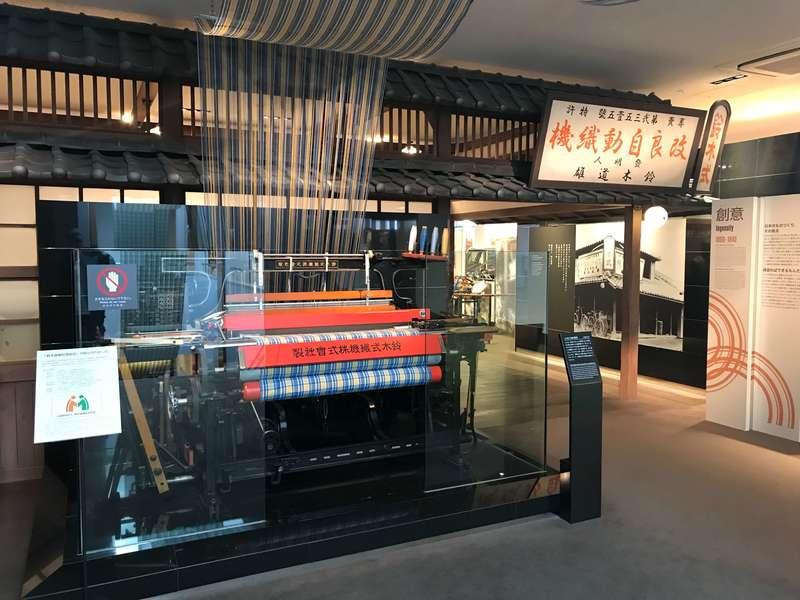 スズキ歴史館の展示
