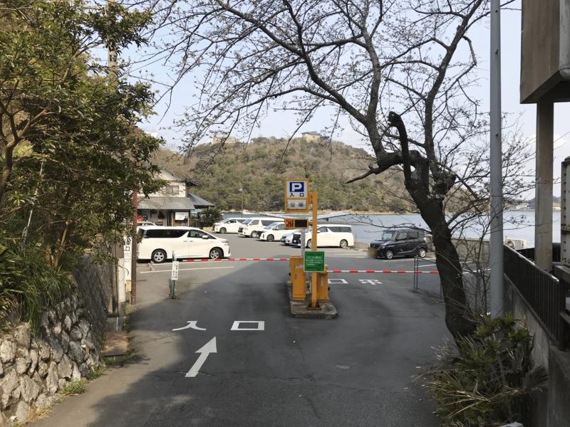 館山寺参拝者駐車場