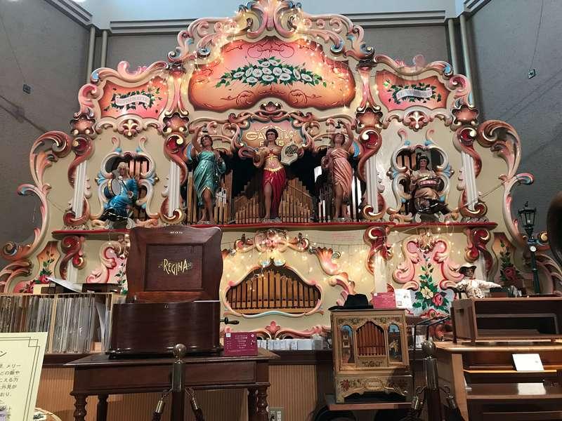 浜名湖オルゴールミュージアムの自動演奏オルガン