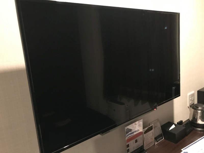 ホテルリブマックスPREMIUM梅田EASTのテレビ