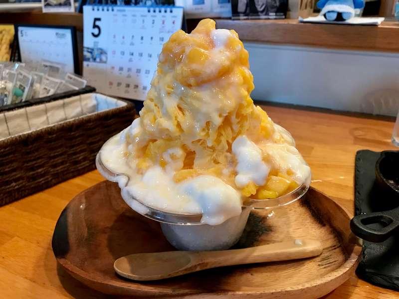 Cafe&Bar19(ジューク)のかき氷