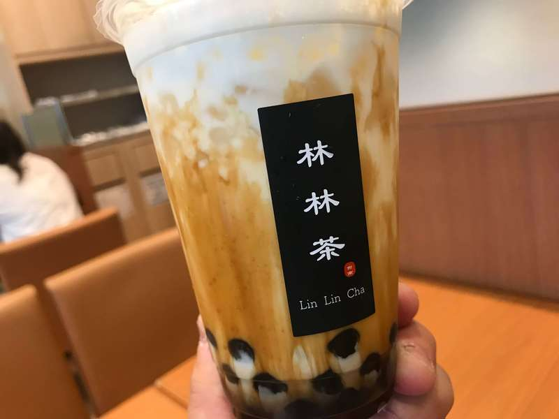 林林茶の黒糖タピオカミルク