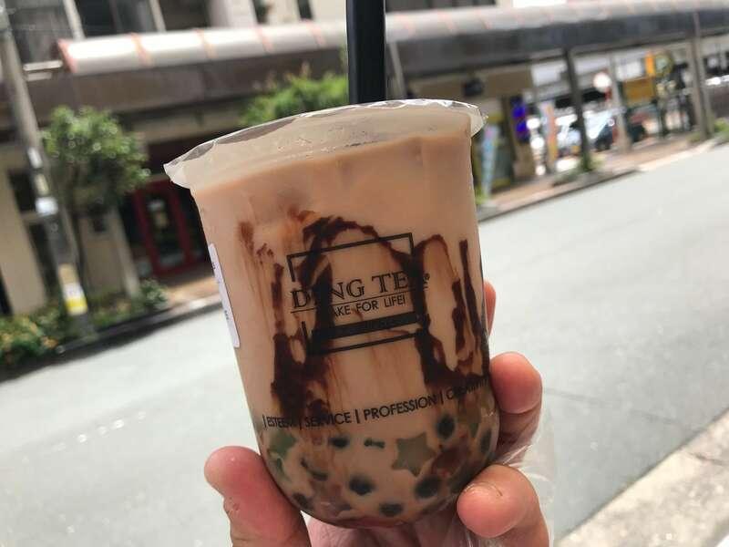 DINGTEA新浜松駅前店のタピオカドリンク