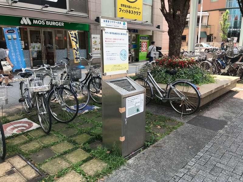 浜松駅周辺の喫煙スポット
