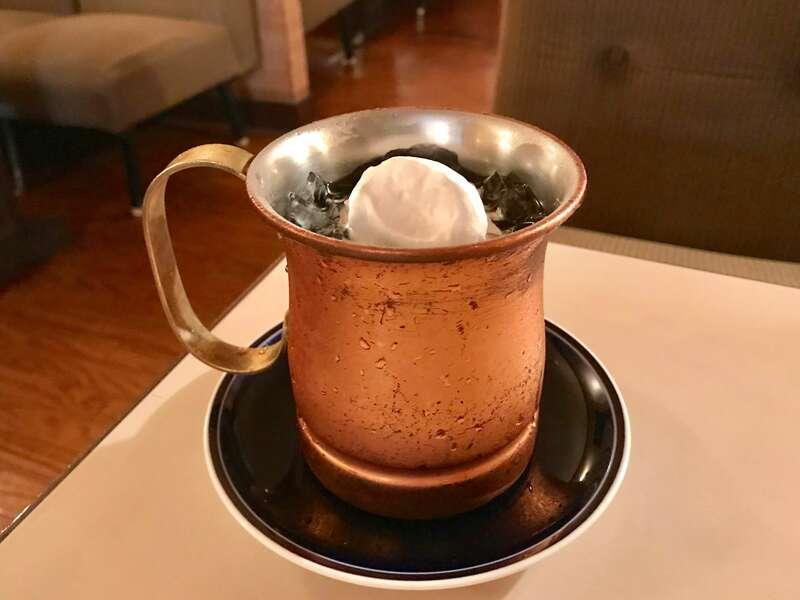 珈琲Beniのアイスコーヒー
