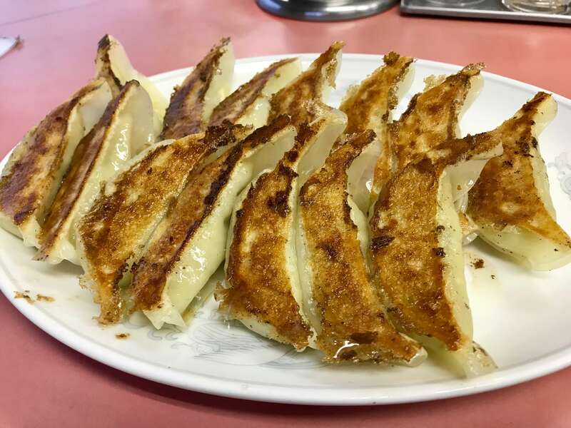 横浜飯店の餃子