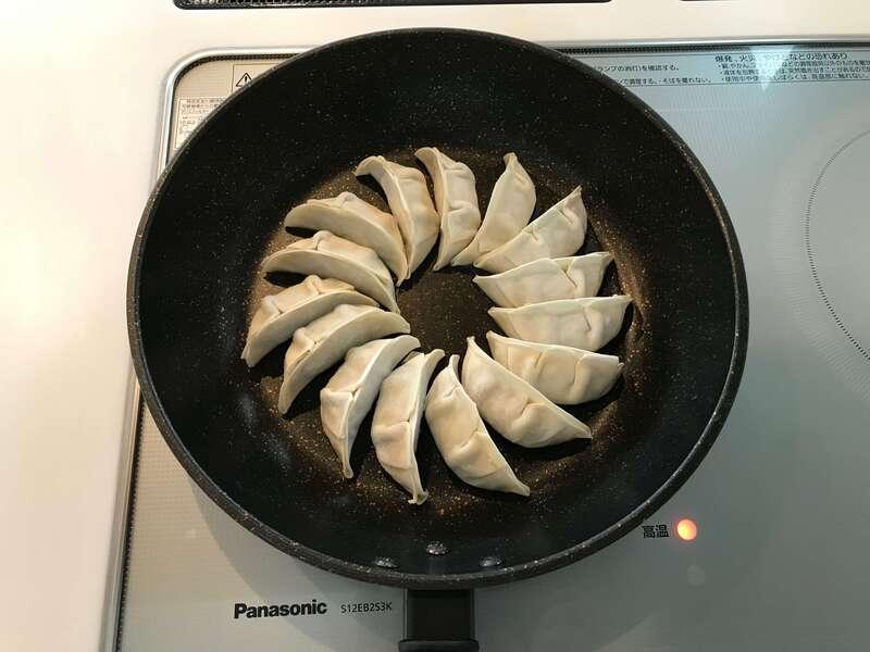 浜松餃子の焼き方