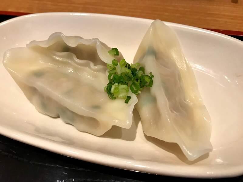 浜太郎小池町店の水餃子