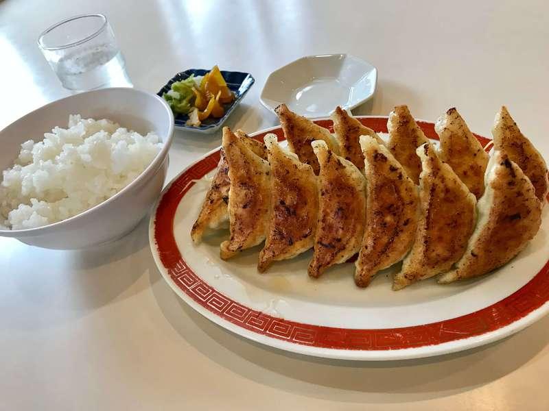 福名餃子店の餃子