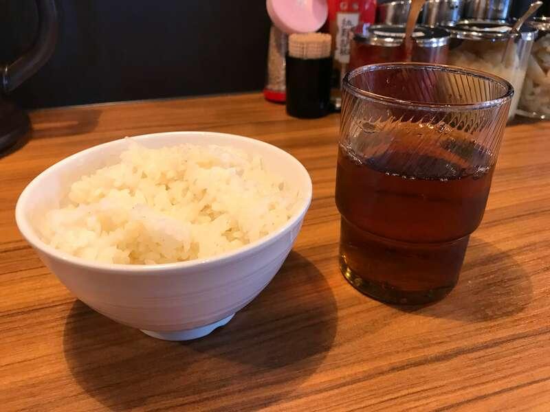横浜家系ラーメン麺匠家マックス有玉店の小ライス