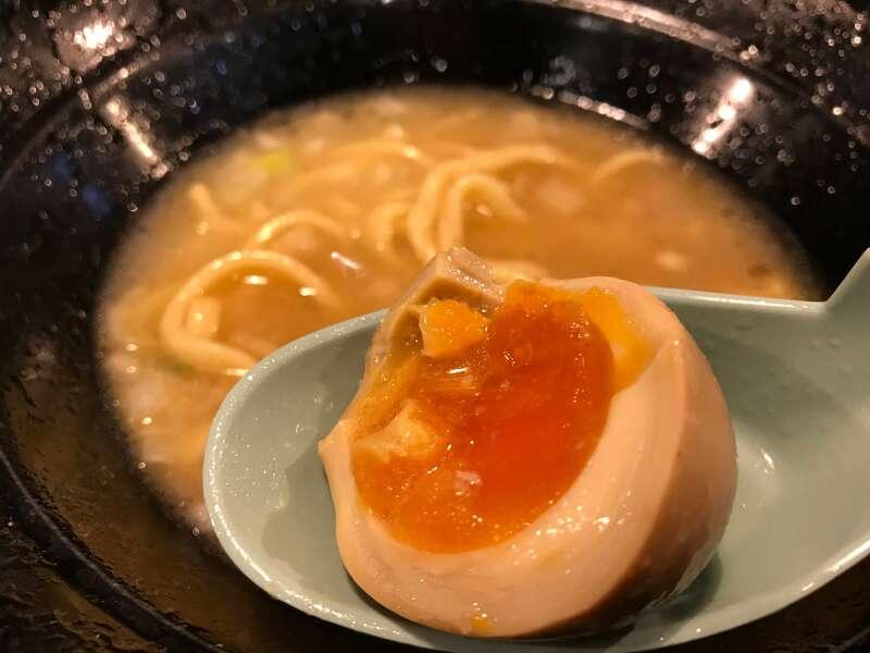 横浜家系ラーメン麺匠家マックス有玉店の味玉