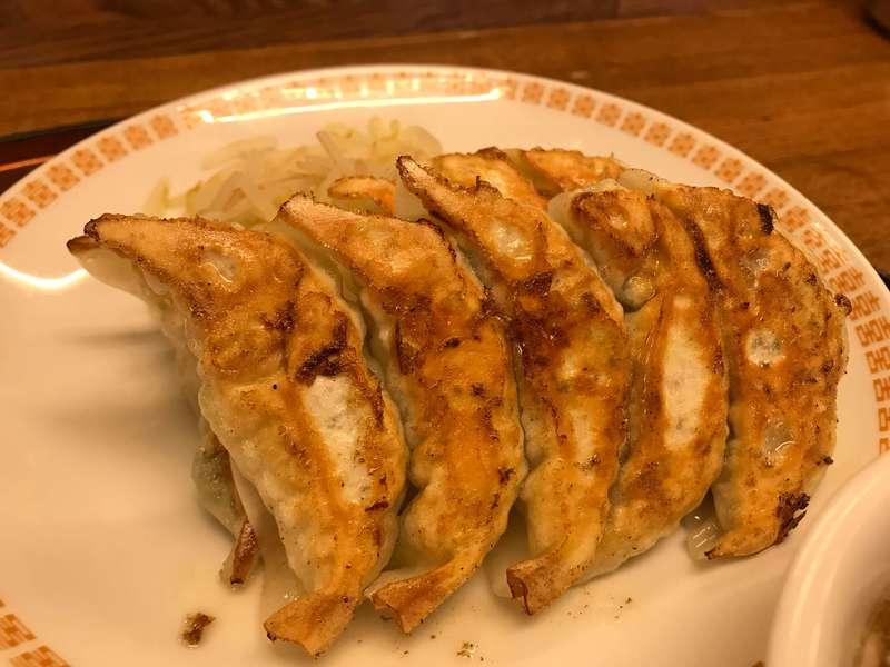 錦華楼中沢店の浜松餃子