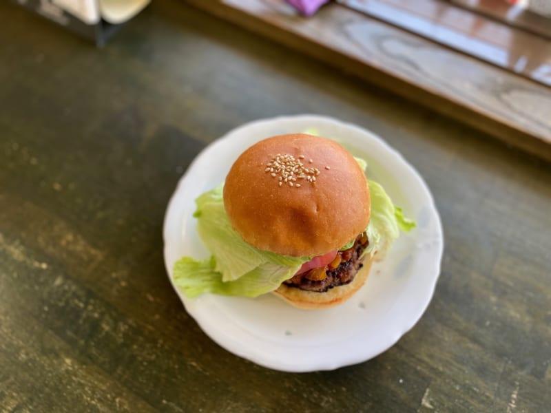 メイポップの三ケ日牛バーガー