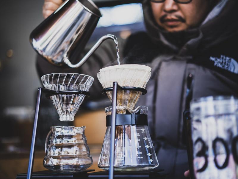 タタズミcoffeeのコーヒー