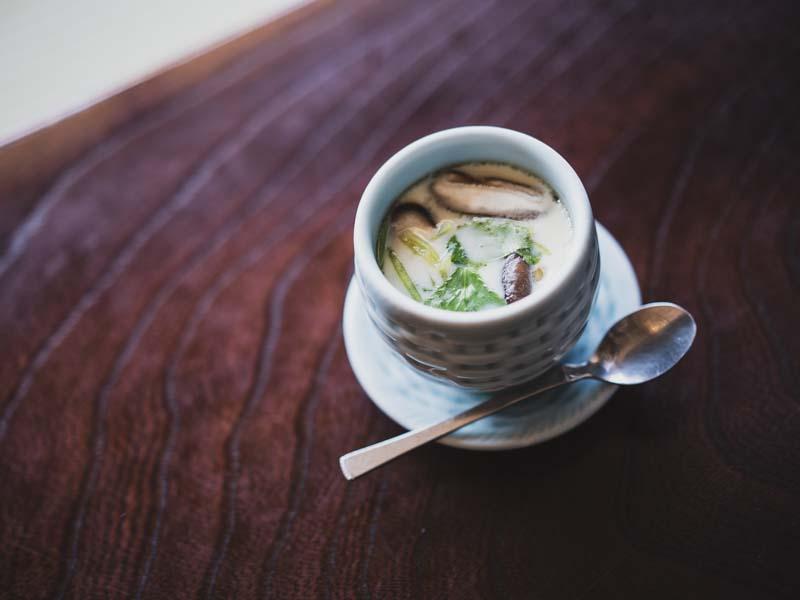 弁天島山本亭の茶碗蒸し