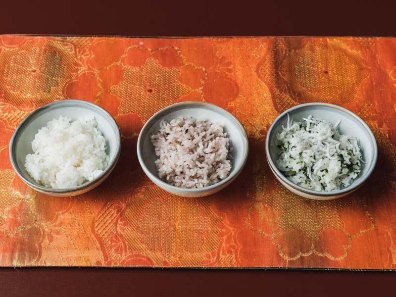 花屋杢兵衛選べる3種類のご飯