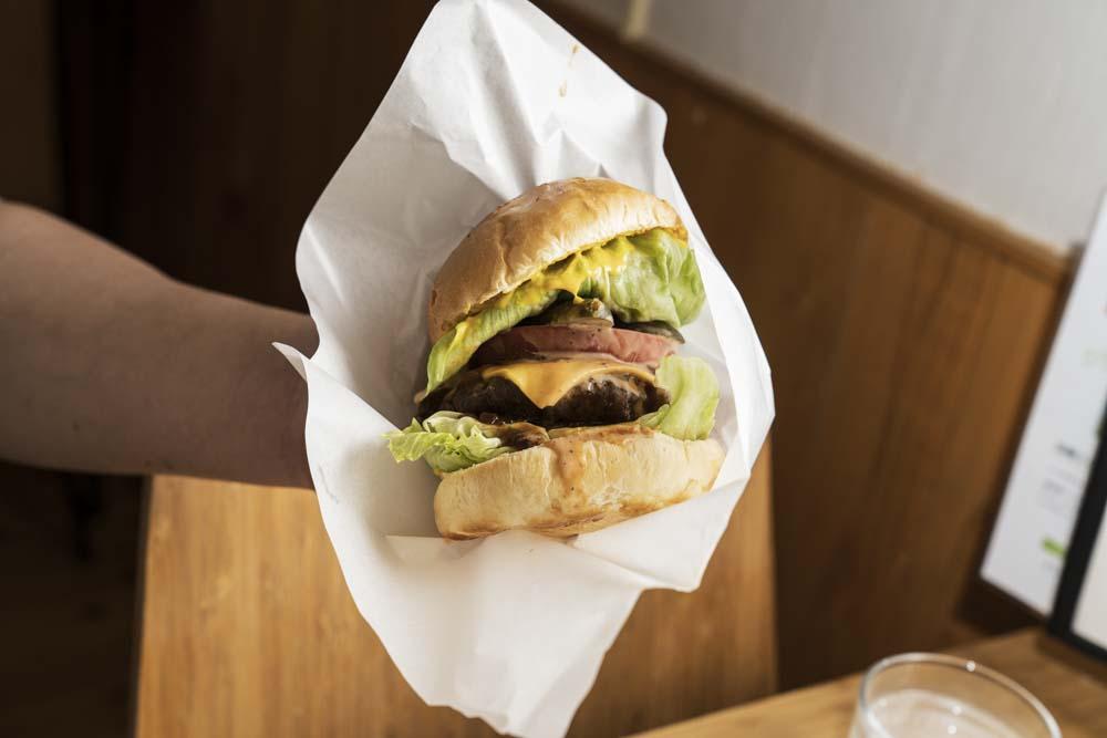 フクカフェ ハンバーガー