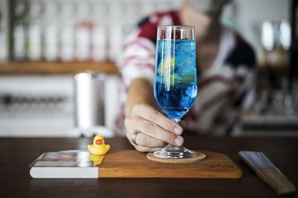 Cafe&bar足湯屋のドリンク