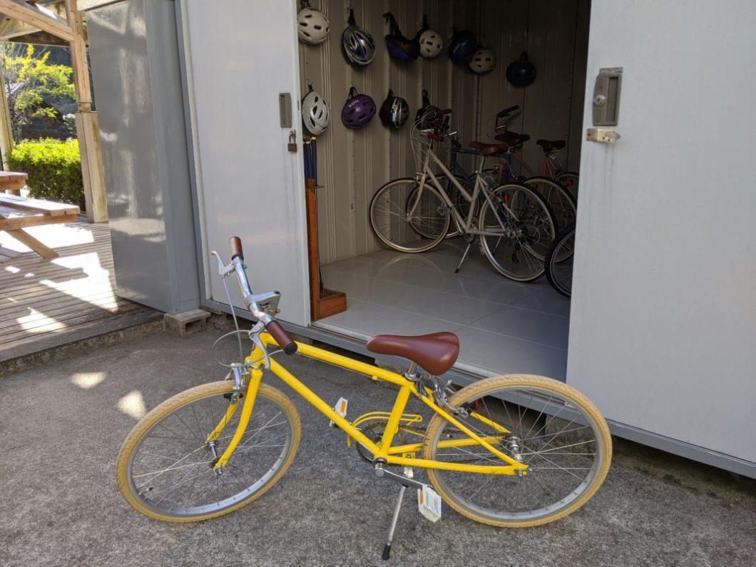 春野ふれあい公園自転車