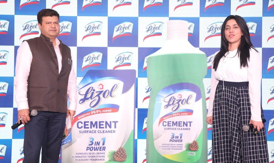 Lizol Brand Launch – Cement Surface Cleaners