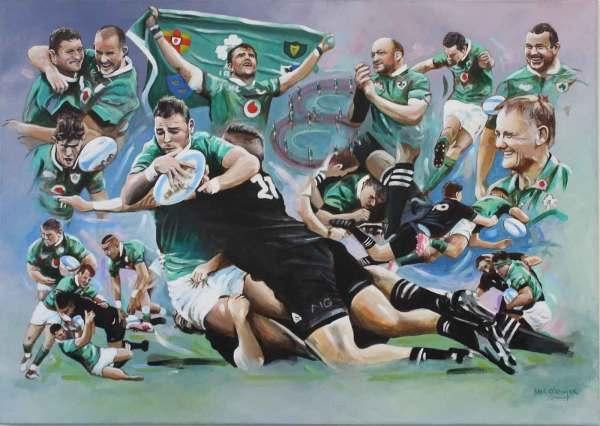 Irish rugby, soldier field, rugby, henshaw,