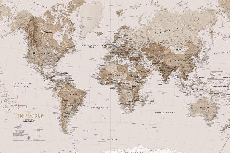 World map wallpaper hd 1366x768 best of world map wallpaper archive hd ultrahd wallpapers for android windows xbox earth tone world map mural wallpaper murals gumiabroncs Choice Image
