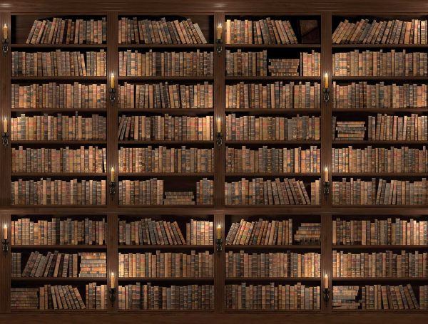 vieille bibliotheque
