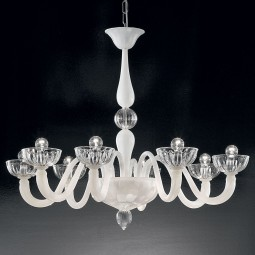 Andronico Murano Glass Chandelier