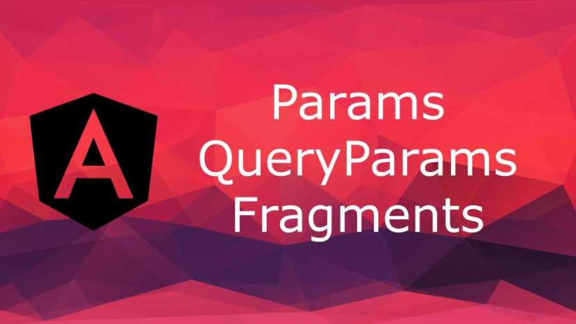 angular params queryparams fragment