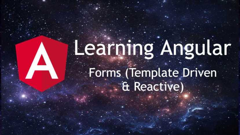 angular forms template driven reactive