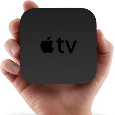Yeni Apple TV dörtte bir oranında küçültüleen boyutlarıyla (23x98x98 mm) bir avuç içine sığabilecek hale getirilmiş, 720p HD video oynatabilme kapasitesine ulaşmıştı.
