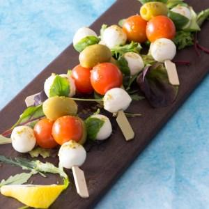 Mozzarella,cherrytomat spyd