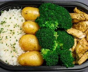 Middag - Varm lunsj - Kylling,brokkoli,potet,ris