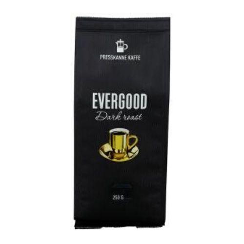 EVERGOOD Dark Roast Kaffe presskannemalt 250g