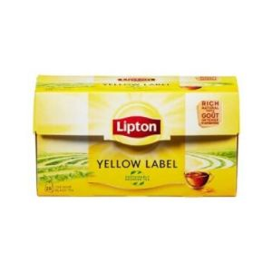 YELLOW LABEL TE LIPTON