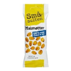 SMÅSULTEN MAISNØTTER 35G