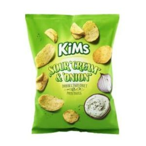 KIMS POTETCHIPS SOUR CREAM&ONION 200G